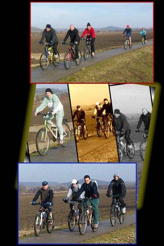 Suite de la Rando Vélo Béthisy St Martin : Janvier 2011