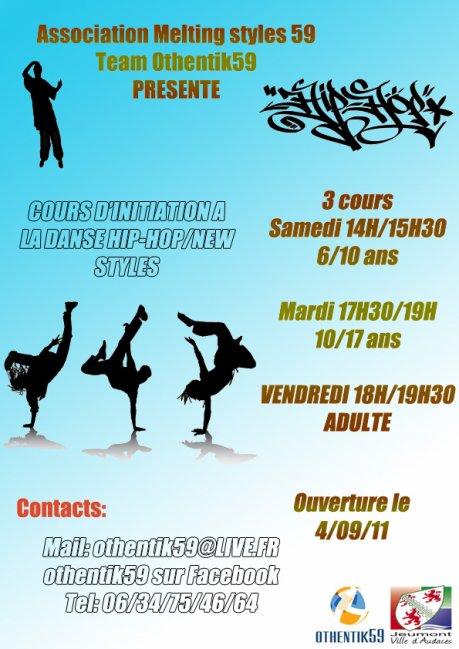 Association othentik59 (cours de danse hip hop)