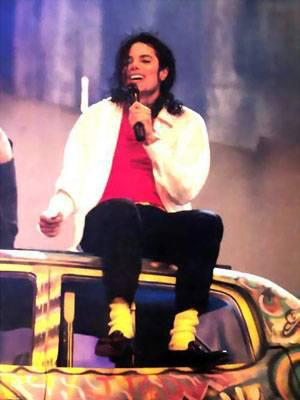 rare michael jackson bad tour backstage king of pop