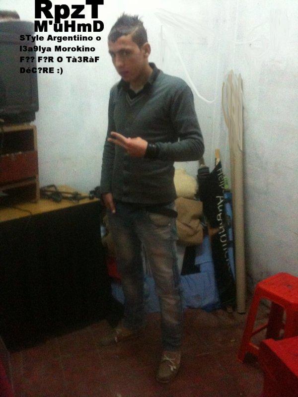STyle Argentiino o l3a9lya Morokino