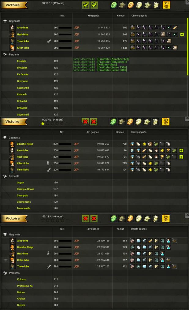 Score 300 / Comte Razof / Maj 2.41 / Kamas