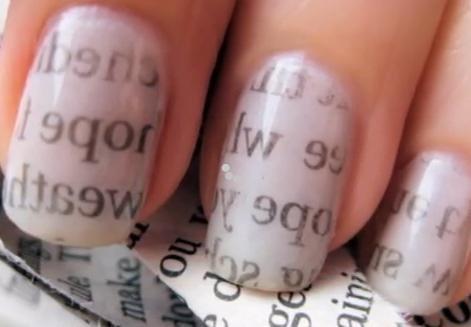 Le nail art.
