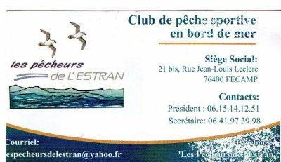 Un club de pêche sur Fécamp