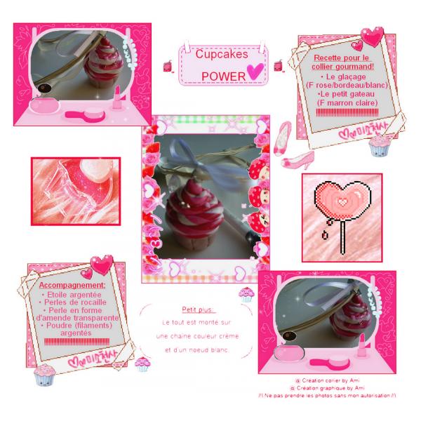 Nouvelle création: Cupcakes POWER!
