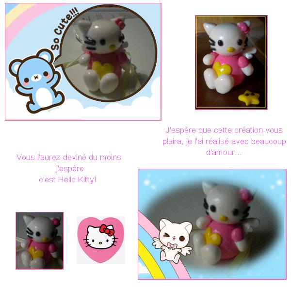 """~Troisième collection~: """"Souvenir d'enfance"""": Hello Kitty"""