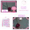 """~Quatrième collection~ """"Tendre Amours"""" -> Collier Rose"""