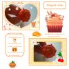 """~Quatrième collection~ """"Tendre Amours"""" -> Bague Rose orange"""