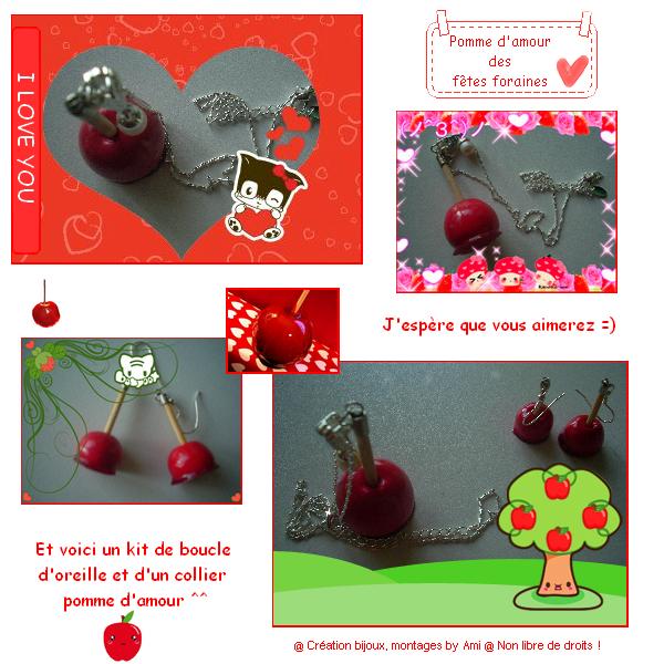 """~Quatrième collection~ """"Tendre Amours"""" -> Pomme d'amour"""