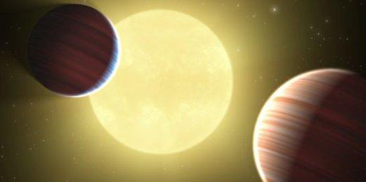 Un système solaire de cinq à sept planètes observé depuis le Chili