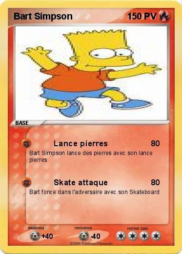 Bart simpson pok mon blog les simpson france - Comment faire bart simpson ...