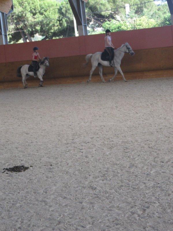Jeudi 07 juin 2012 , J'ai monté rigolo'oh en saut ^^ (suite)