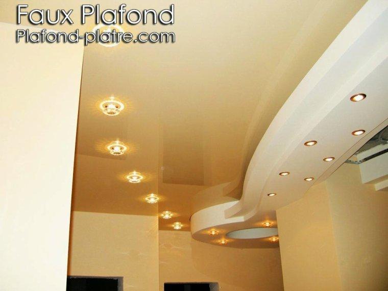 Conception plafond lumineux couloirs faux plafond - Faux plafond suspendu lumineux ...
