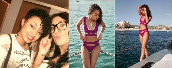 Nouveauté instagram : Voici les 3 derniers photos du compte instagram de la belle Leigh-Anne.