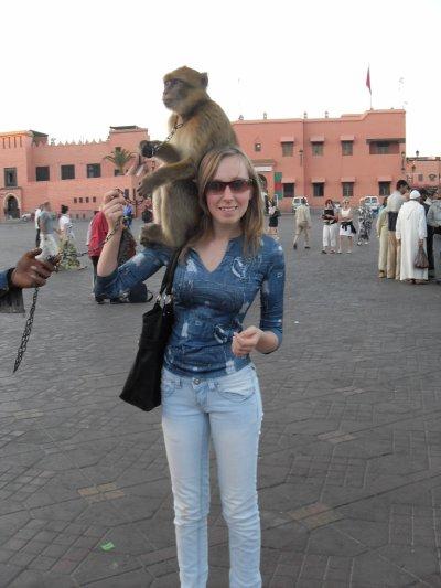 mr le singe et moi