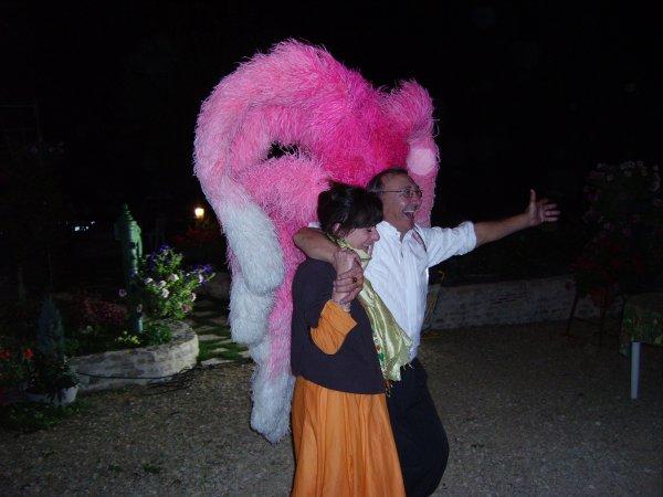 Anniversaire de Michel le 26 Septembre 2009, Le coq à l'apéro et Margareth Thatcher... ;) ;)