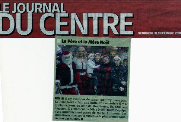 Animation au MagPress la 24 Décembre 2010, à Cosne sur Loire