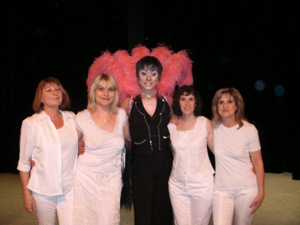 Collaboration dans un show avec Ephémère, 14 mai 2011, GALA DE DANSE A COSNE SUR LOIRE
