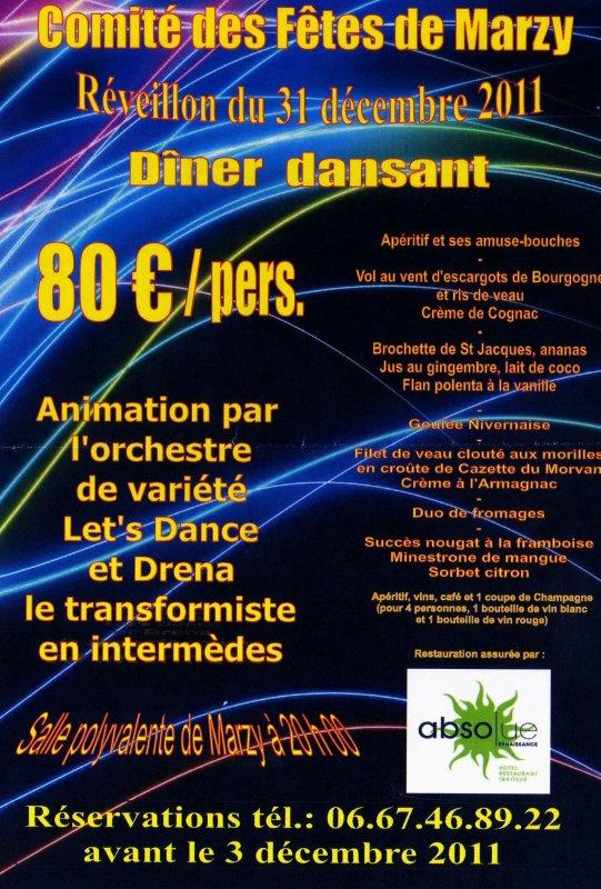 Soirée publique, le 31 Décembre 2011, pour la nouvelle année... 1ère partie de soirée