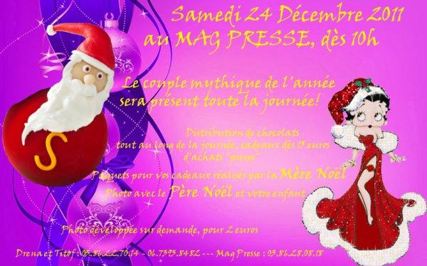 Animation au MagPress la 24 Décembre 2011, à Cosne sur Loire