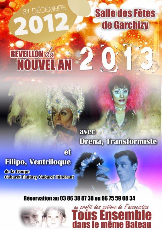 Soirée publique, le 31 Décembre 2012, à Varennes Vauzelles