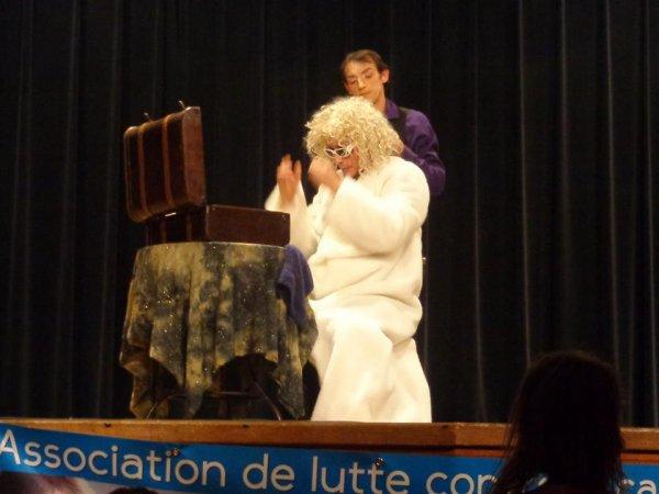 Soirée publique, le 30 Novembre 2013, à La Charité sur Loire