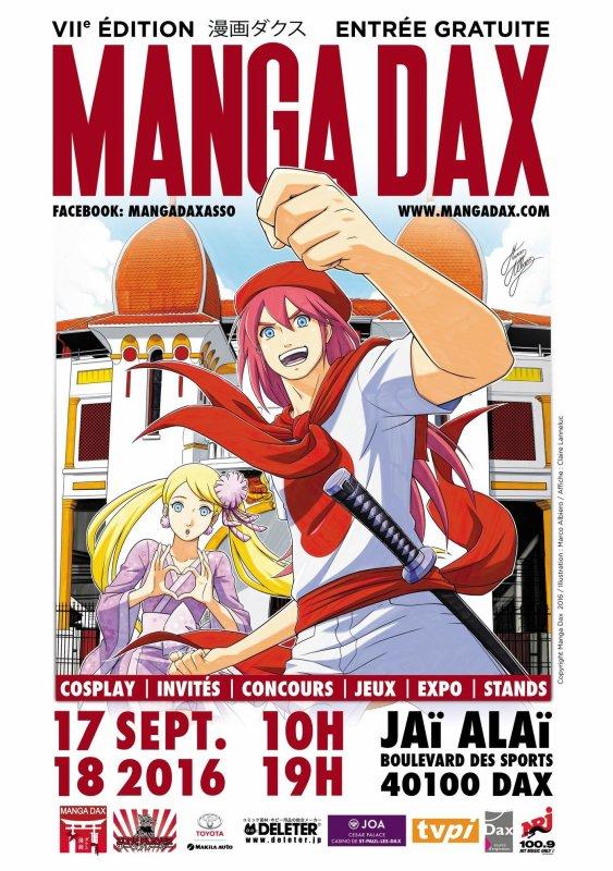 Manga Dax 2016