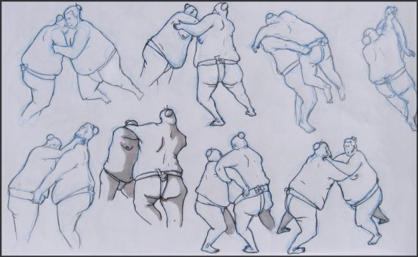 Le sumo et les rikishi