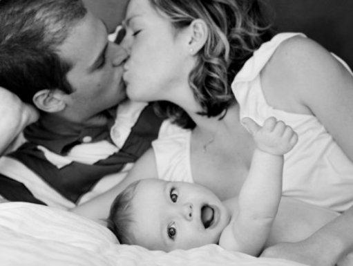 """Le mots """"Je t'aime"""" a une vrais signification entre nous.. nous trois."""