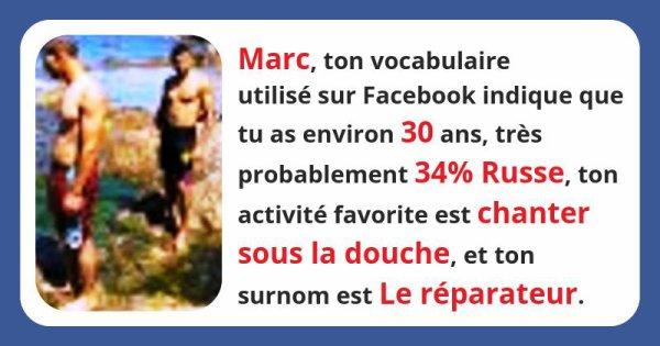 Que révèle ton vocabulaire sur Facebook à ton sujet ?