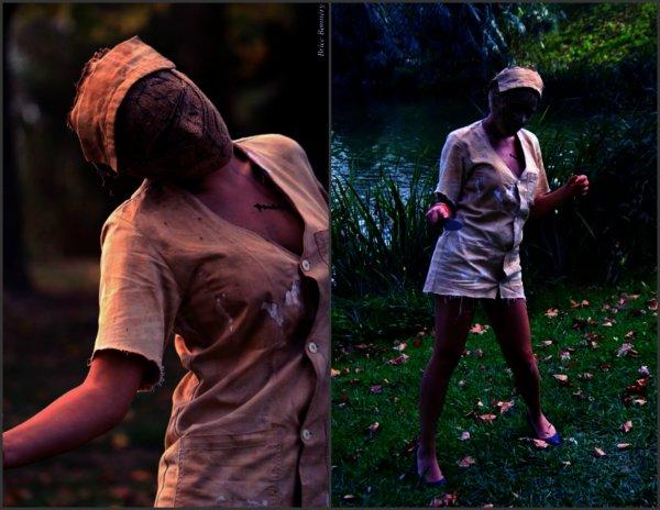 Cosplay of Dark nurse - Silent Hill