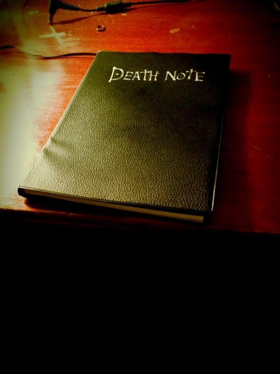 Mon death note :3