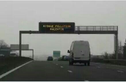 alerte pollution jusqu'à jeudi et oui il n'y pas qu à paris