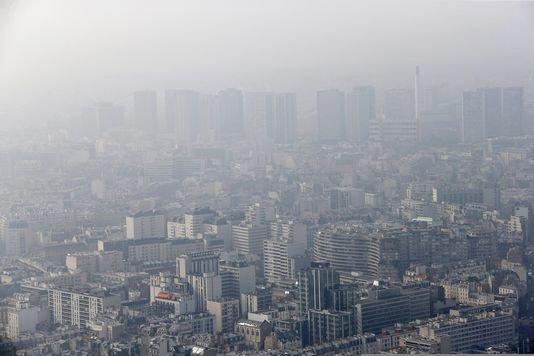 La pollution de l'air est responsable de 9 % de la mortalité en France