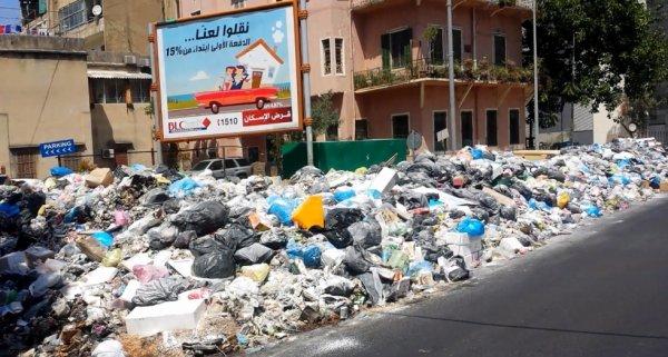 Le Liban croule de nouveau sous les déchets