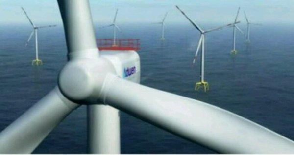 Eolien en mer: construction d'une vaste usine à Cherbourg à partir de mars