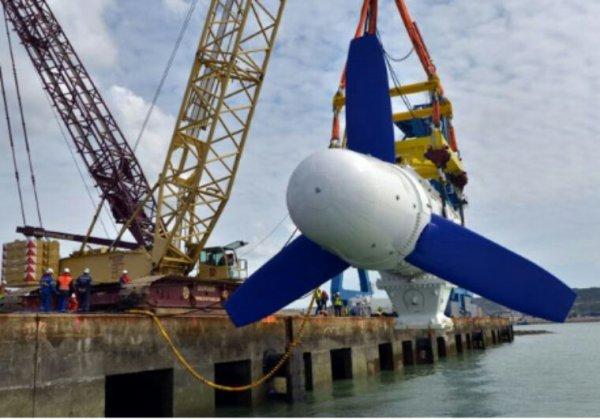 La CNR, compagnie nationale du Rhône, va installer des hydroliennes sur le fleuve.