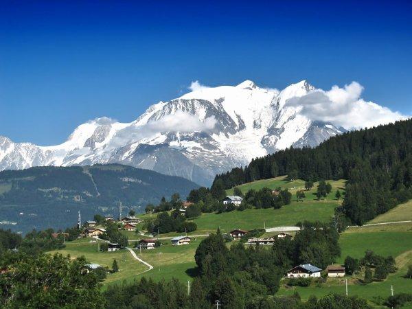 Centrale hydroélectrique au Mont-Blanc