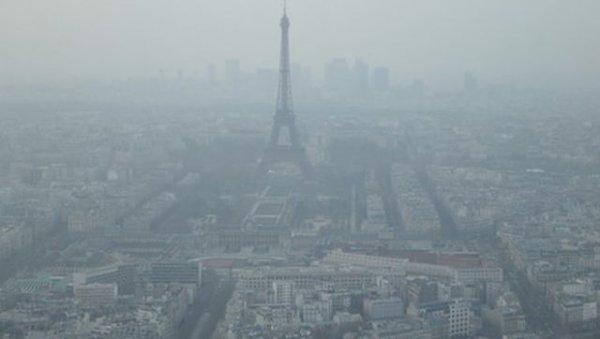 La pollution à Paris