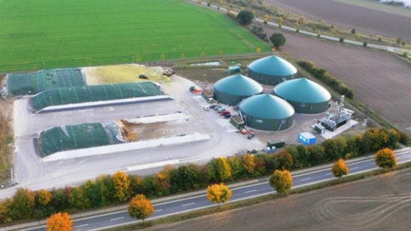 La production de bio gaz monte en puissance