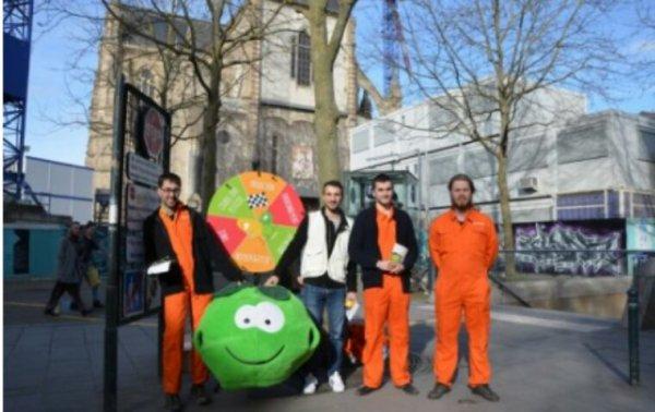"""Rennes.Action de sensibilisation autour du """"zéro pesticide"""""""
