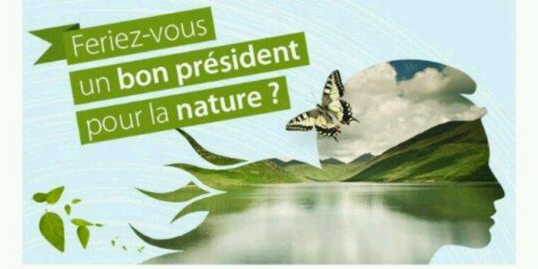 Élections présidentielles 2017 :  que propose Nicolas Dupont-Aignan pour la nature ?