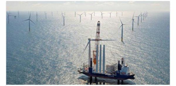 Une gigantesque ferme eolienne ouvre au Pays-Bas