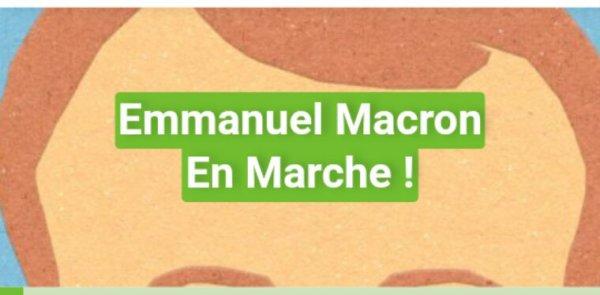 Actualité Greenpeace: Emmanuel Macron En Marche!