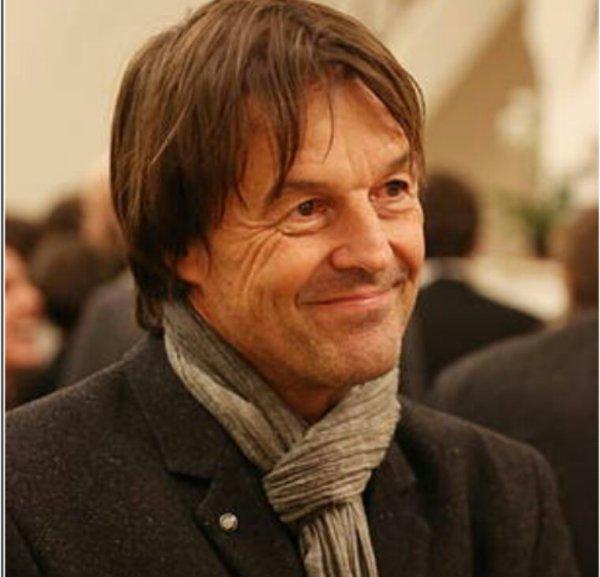 Nicolas Hulot, ministre d'Etat de la transition écologique et solidaire
