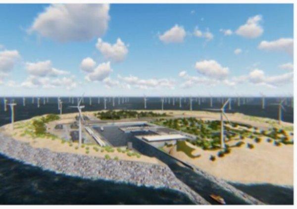 Cette île artificielle durable produira de l'énergie pour 70 à 100 millions de personnes