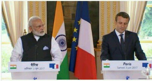 Climat : l'Inde assure la France de son soutien à l'Accord de Paris