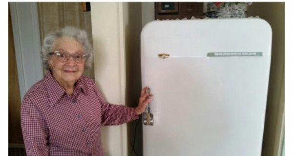 Vivre avec le même réfrigérateur depuis1953