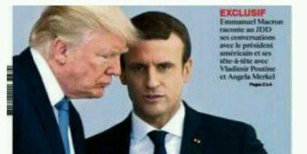 Accord de Paris: Trump «va essayer de trouver une solution dans les prochains mois» (Macron)