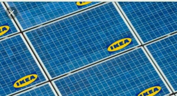 Ikea relance la vente de panneaux solaires