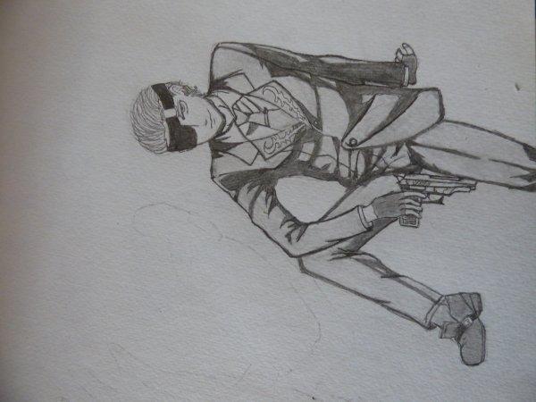Je commence ce dessin ><